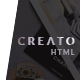 Creato - Creative & Modern HTML Template - ThemeForest Item for Sale
