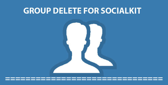 CodeCanyon Group Delete For Socialkit 11789085