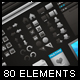 80 Developers Elements - GraphicRiver Item for Sale