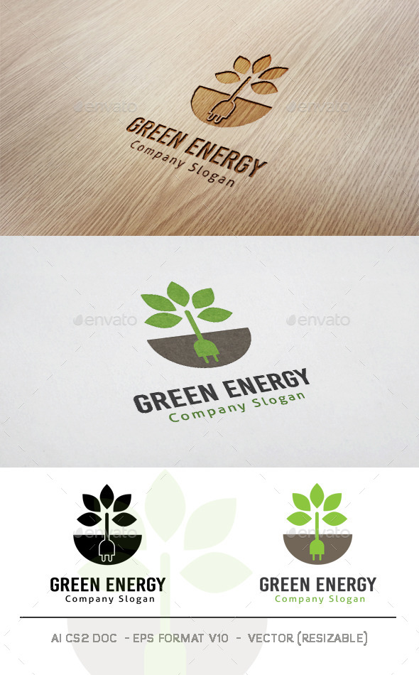 GraphicRiver Green Energy Logo 11789163