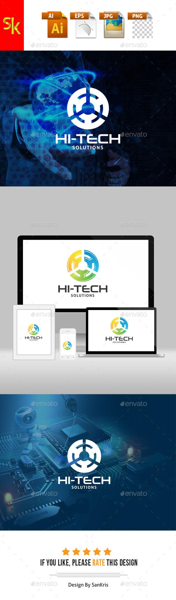 GraphicRiver Hi Tech Solutions V2 11789527