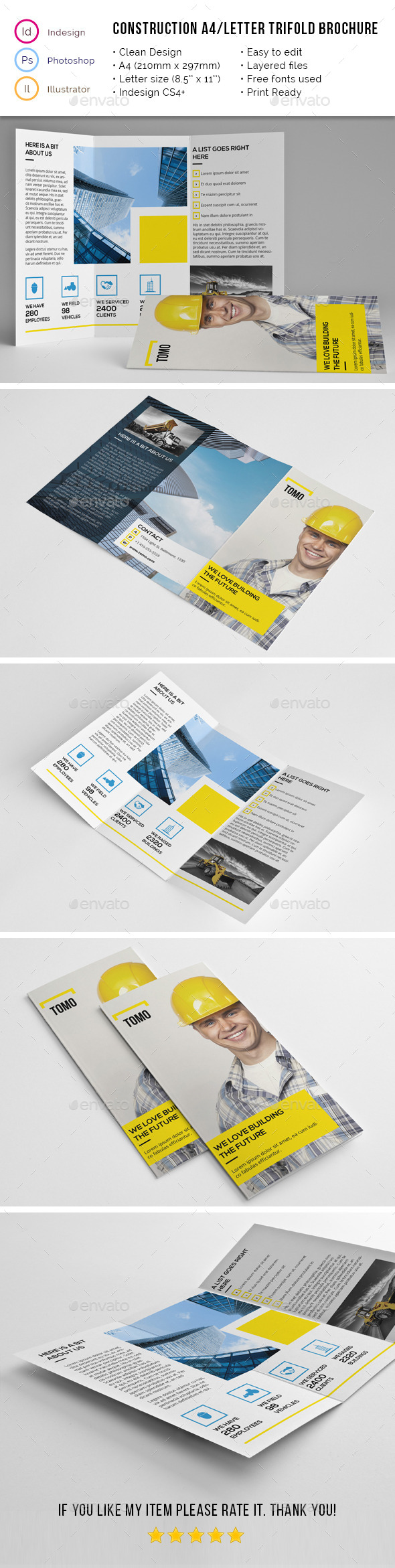 GraphicRiver Construction Company A4 Letter Trifold 02 11789636