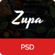 ZupaRestaurant PSD Template - ThemeForest Item for Sale