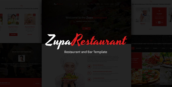 ThemeForest ZupaRestaurant PSD Template 11687215