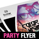 Dj Party Flyer/Poster Templates - GraphicRiver Item for Sale
