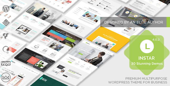 Linstar - MultiPurpose WordPress Theme