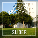 Green Grass And White Building  - VideoHive Item for Sale