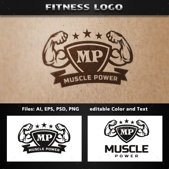 GraphicRiver Fitness Logo Template 11770074