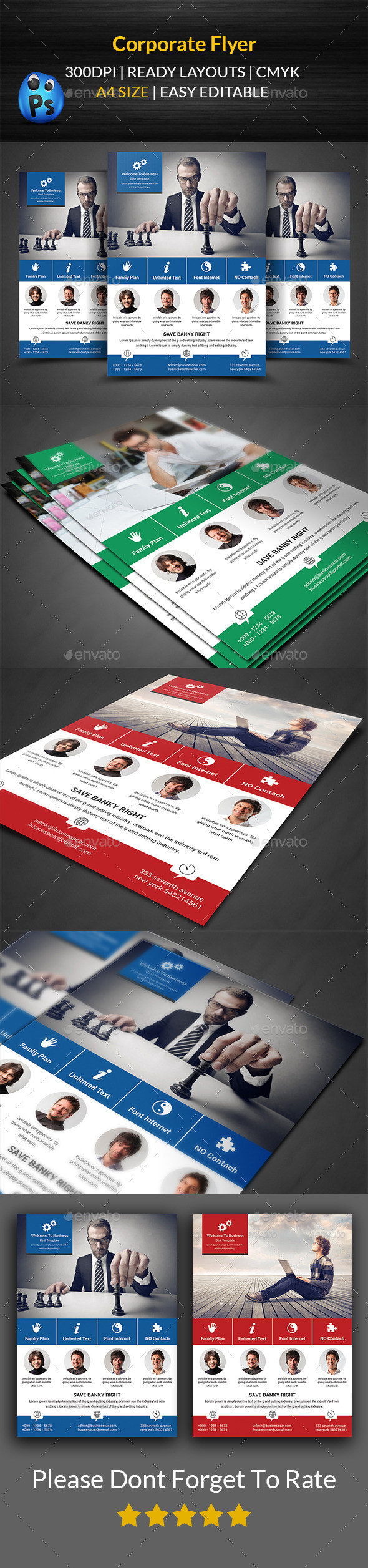 GraphicRiver Corporate Flyer Template 11791355