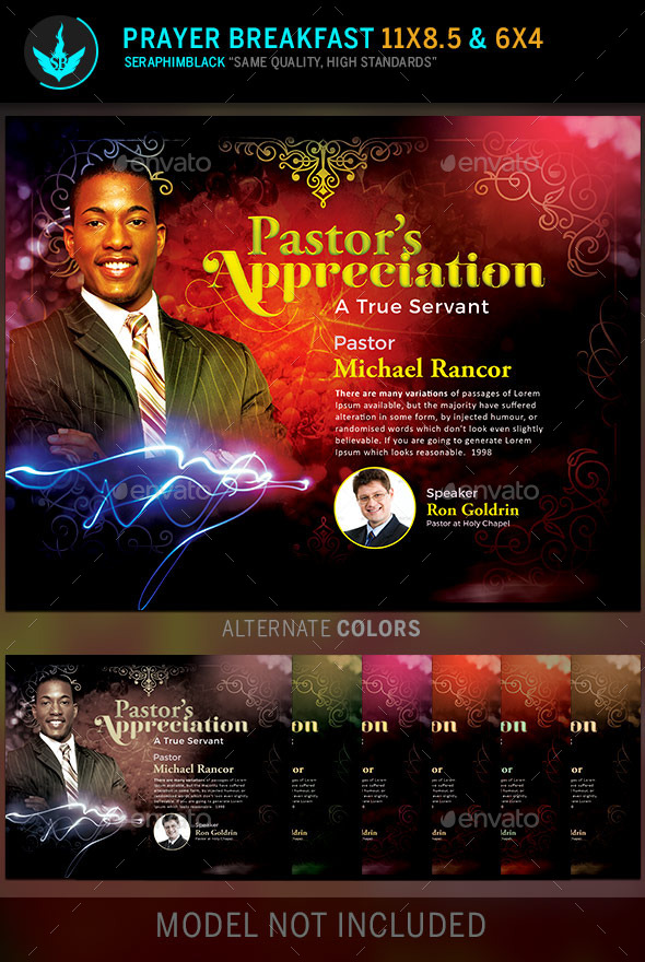 GraphicRiver Pastor s Appreciation Church Flyer Template 11793657