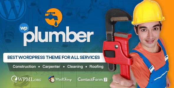 ThemeForest Plumber Building & Construction Business Theme 11793661