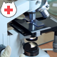 Doctor Work In Laboratory See In Microscope 2 in 1 - VideoHive Item for Sale