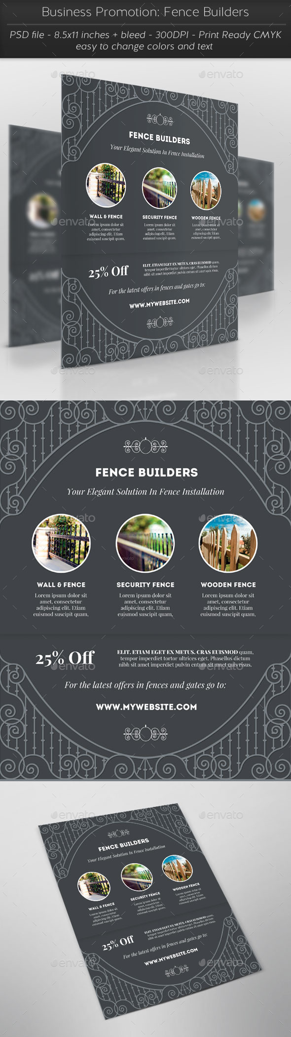 GraphicRiver Business Promotion Fence Builders 11793773