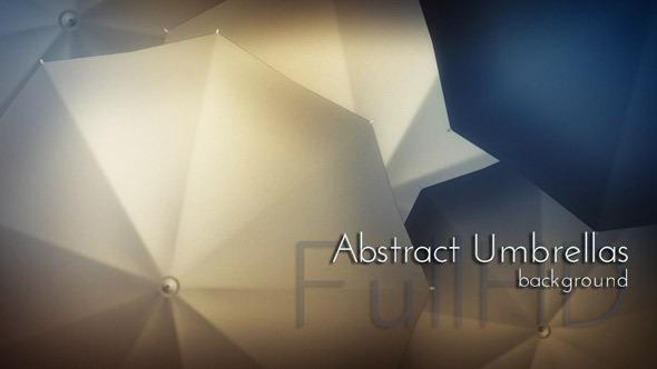 Abstract Umbrellas