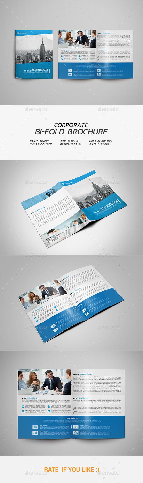 GraphicRiver Corporate Bi-fold Brochure 11793865