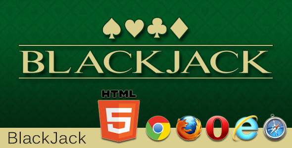 CodeCanyon Blackjack Casino Game HTML5 Mobile Optimized 11794410