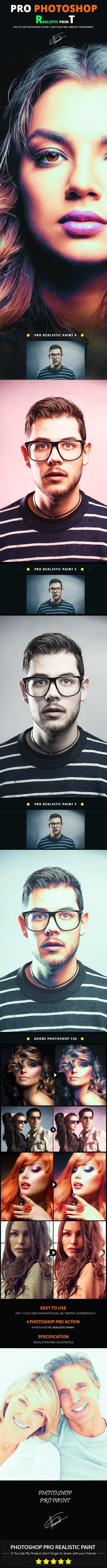 GraphicRiver Pro Realistic Paint 11794443
