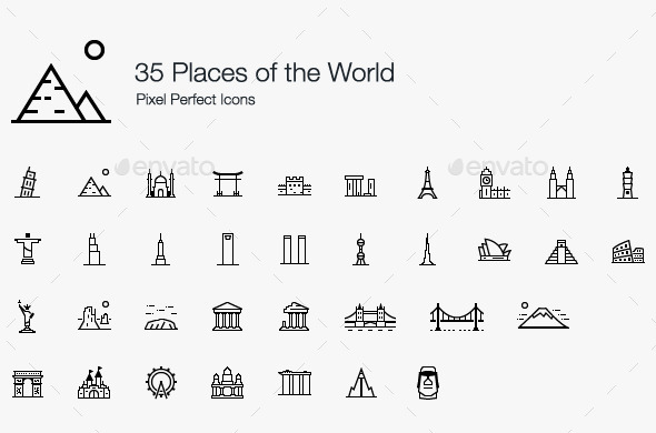 GraphicRiver Places of the World 11794773