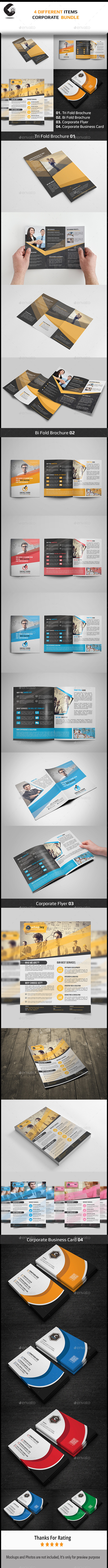 GraphicRiver Corporate Brochure Bundle 11795275