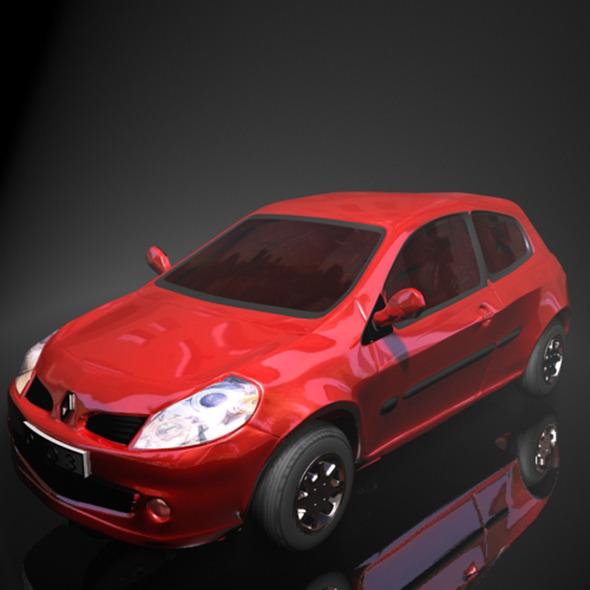 3DOcean Renault Clio 11795587