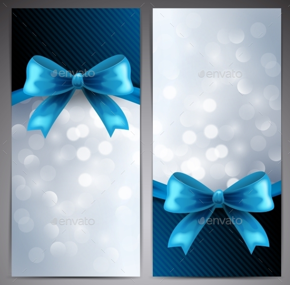 Collection of Gift Cards with Ribbon