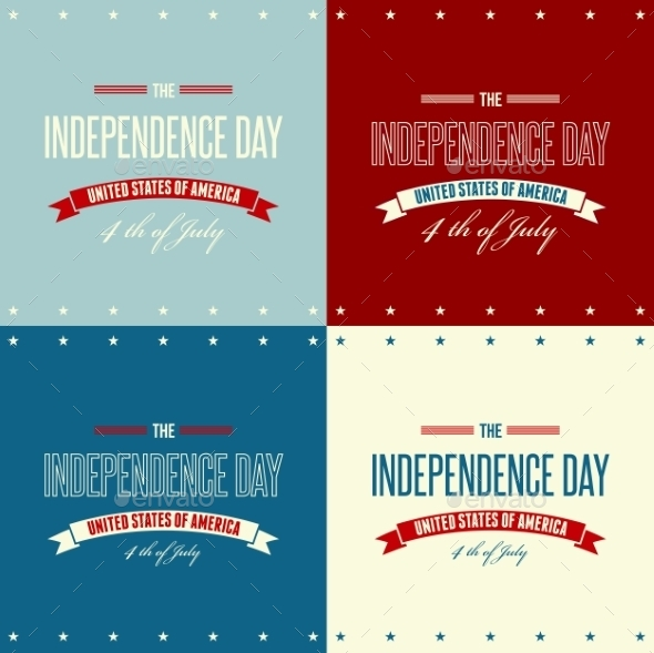 GraphicRiver American Independence Day Patriotic Background 11796982