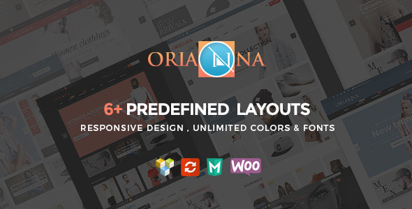 ThemeForest Orianna Responsive WooCommerce Fashion Theme 11797176