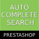 Prestashop Ajax Autocomplete Search