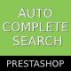 Prestashop Ajax Autocomplete Search