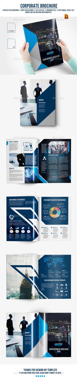 GraphicRiver Corporate Bifold Brochure 11797458