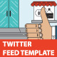Twitter Stream Graphic Templates Cafe Bakery Etc