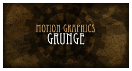 Motion Graphics Grunge