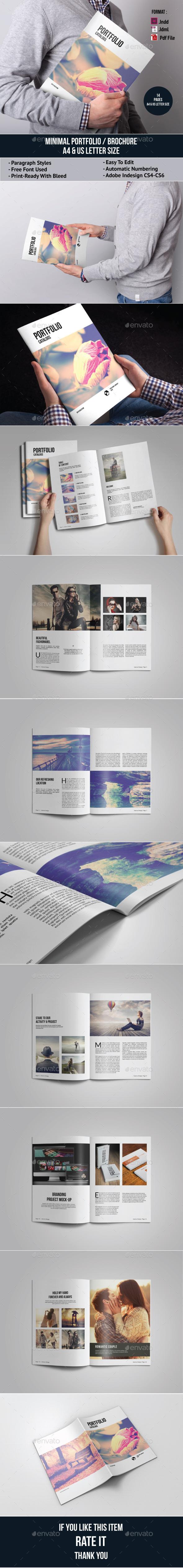 GraphicRiver Minimal Portfolio Brochure 11799009