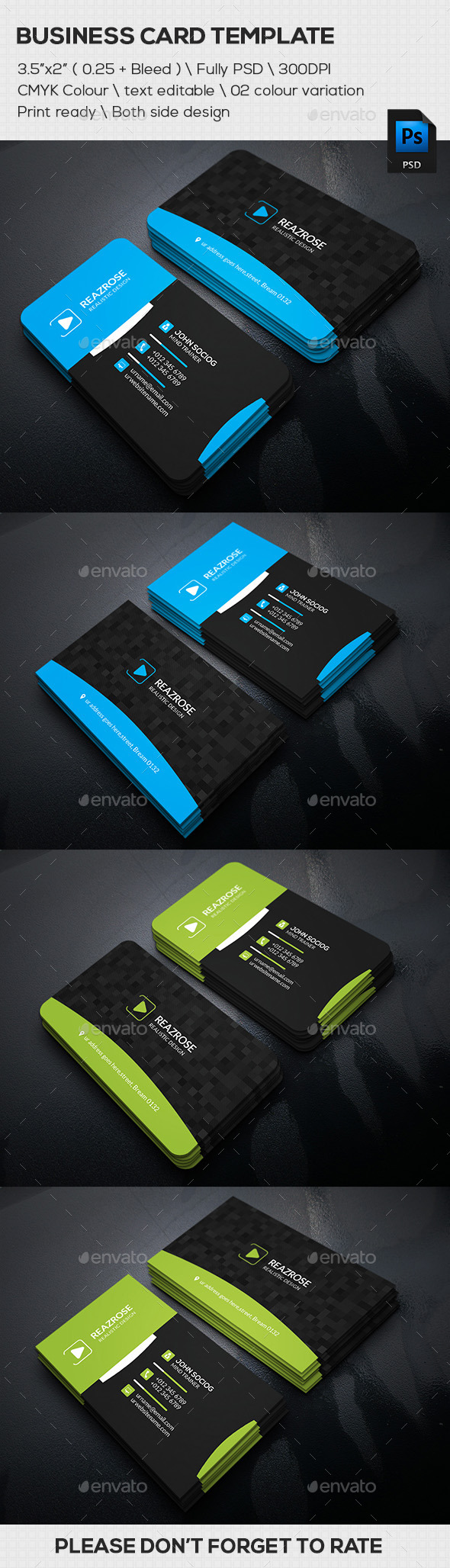 GraphicRiver Modern Business Card 11799794
