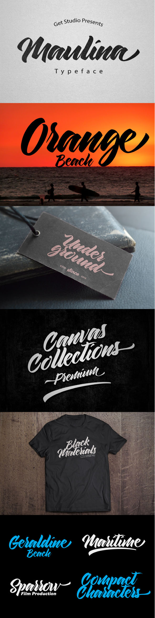 GraphicRiver Maulina Typeface 11799817