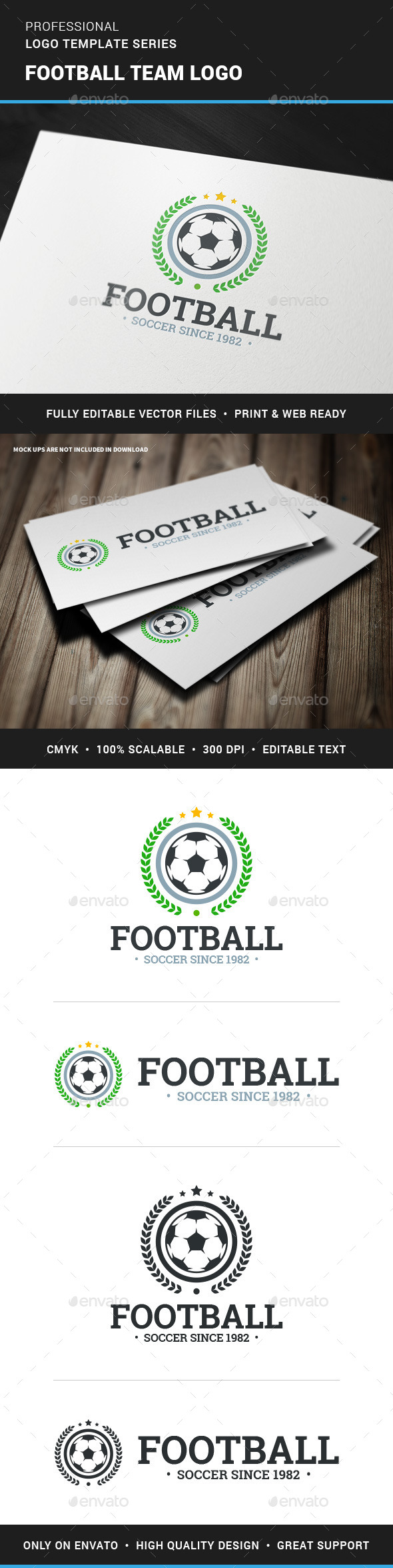 GraphicRiver Football Club Logo Template 11799927