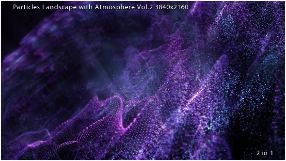 Particles Atmosphere Purple Vol.2