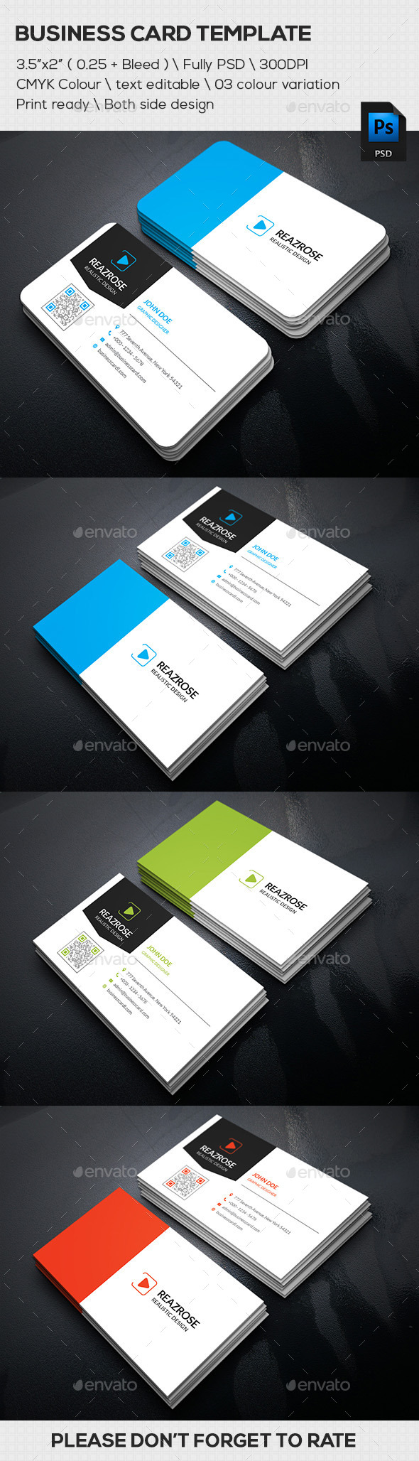 GraphicRiver Modern Business Card 11800587