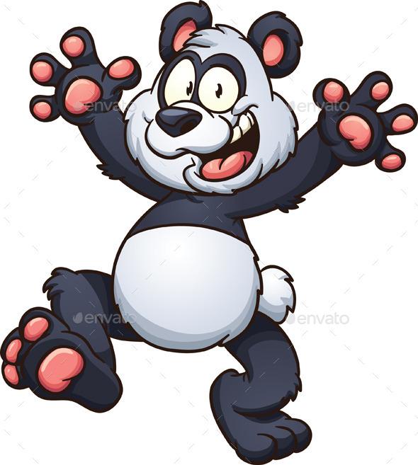 GraphicRiver Cartoon Panda 11800814