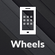 Wheels | Mobile & Tablet Responsive Template - Mobile Site Templates