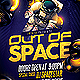 Out of Space Party Flyer - GraphicRiver Item for Sale