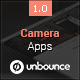 Camera Apps - Unbounce Landing Page - ThemeForest Item for Sale
