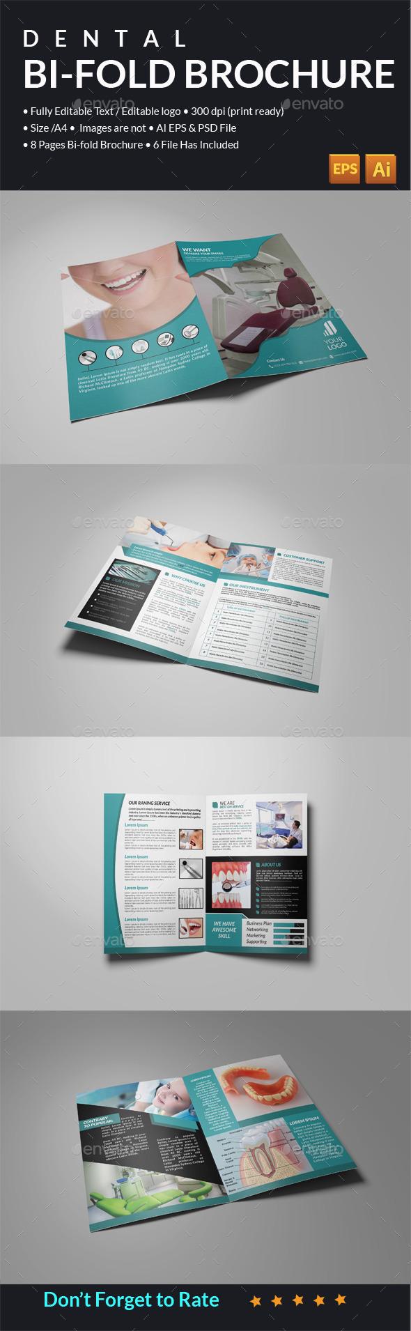 GraphicRiver Dental Catalog Template 11801906