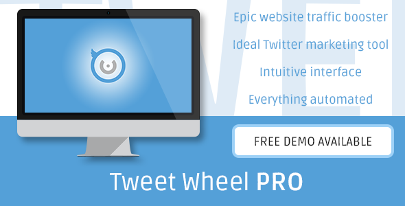 CodeCanyon Tweet Wheel Pro Automated Tweeting for WordPress 11802003