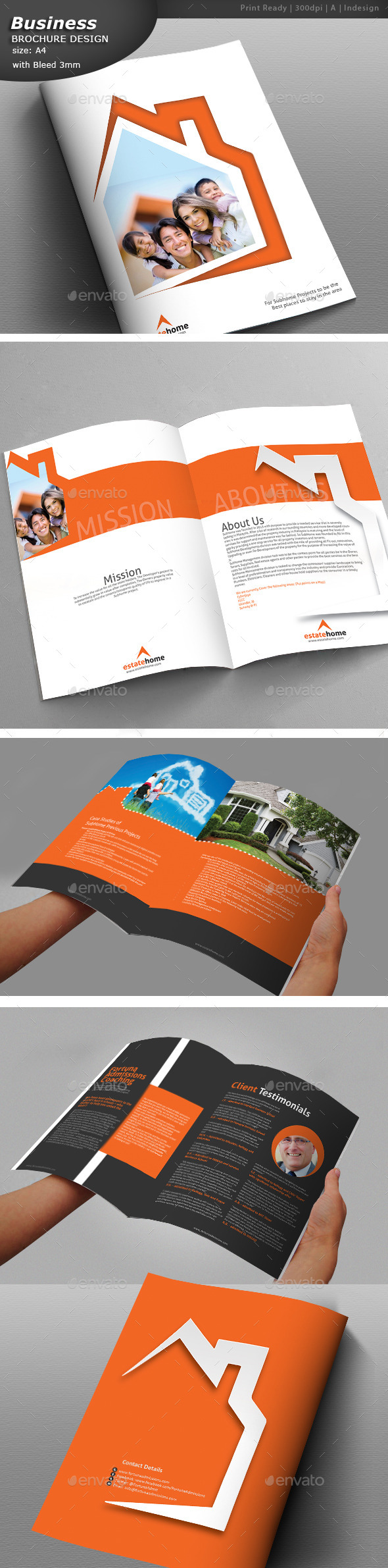 GraphicRiver Real Estate Brochure 11802118