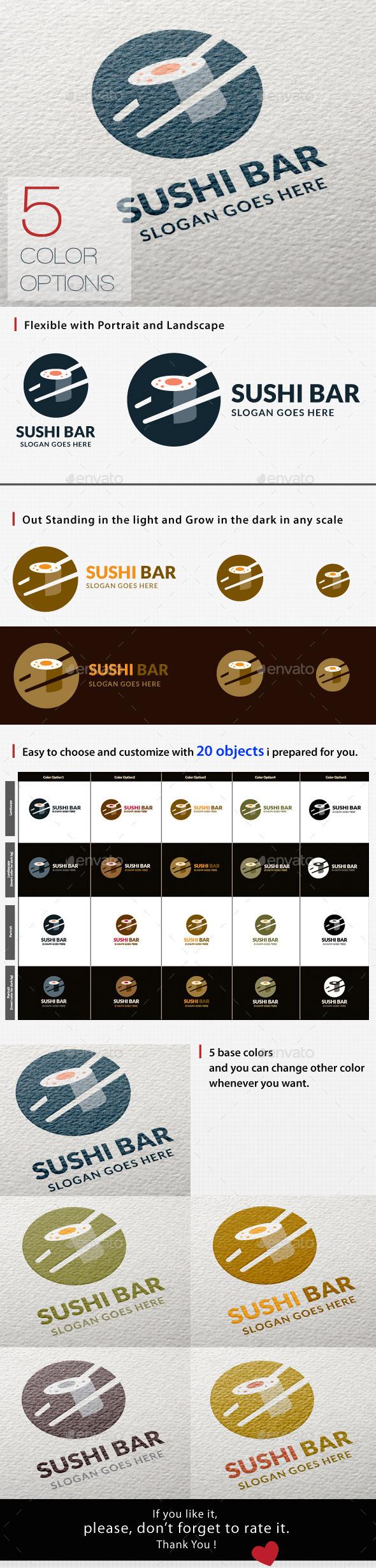 GraphicRiver Sushi Logo 11802912