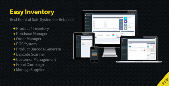CodeCanyon Easy Inventory 11767012