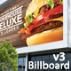 Billboards On The Buildings Mockup - GraphicRiver Item for Sale