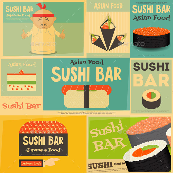 GraphicRiver Sushi 11804468