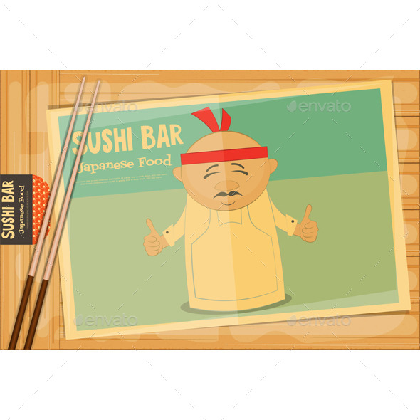 GraphicRiver Sushi 11804507